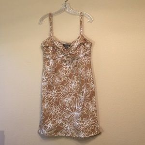 Tommy Bahama dress spaghetti straps